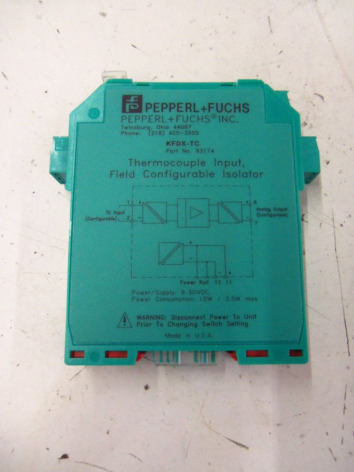FE1320A1 PEPPERL /& FUCHS FE-1320A-1 NEW NO BOX