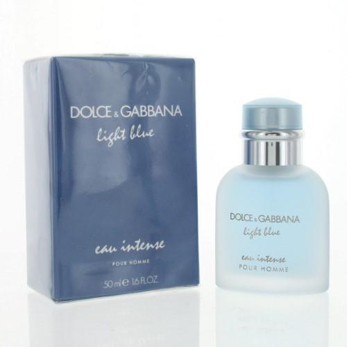 7857ca042a9d D   G LIGHT BLUE EAU INTENSE Dolce   Gabbana 1.6 OZ EAU DE PARFUM SPRAY Box  Men