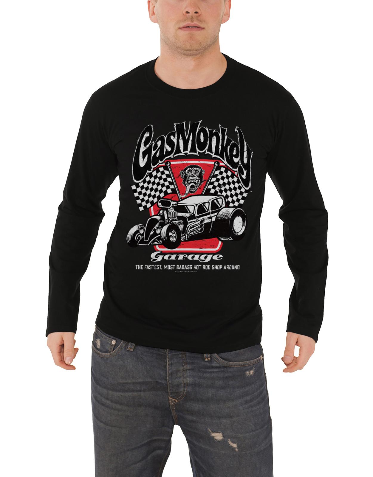 9d28a99176a Distressed Engine Gas Monkey Garage Work Shirt