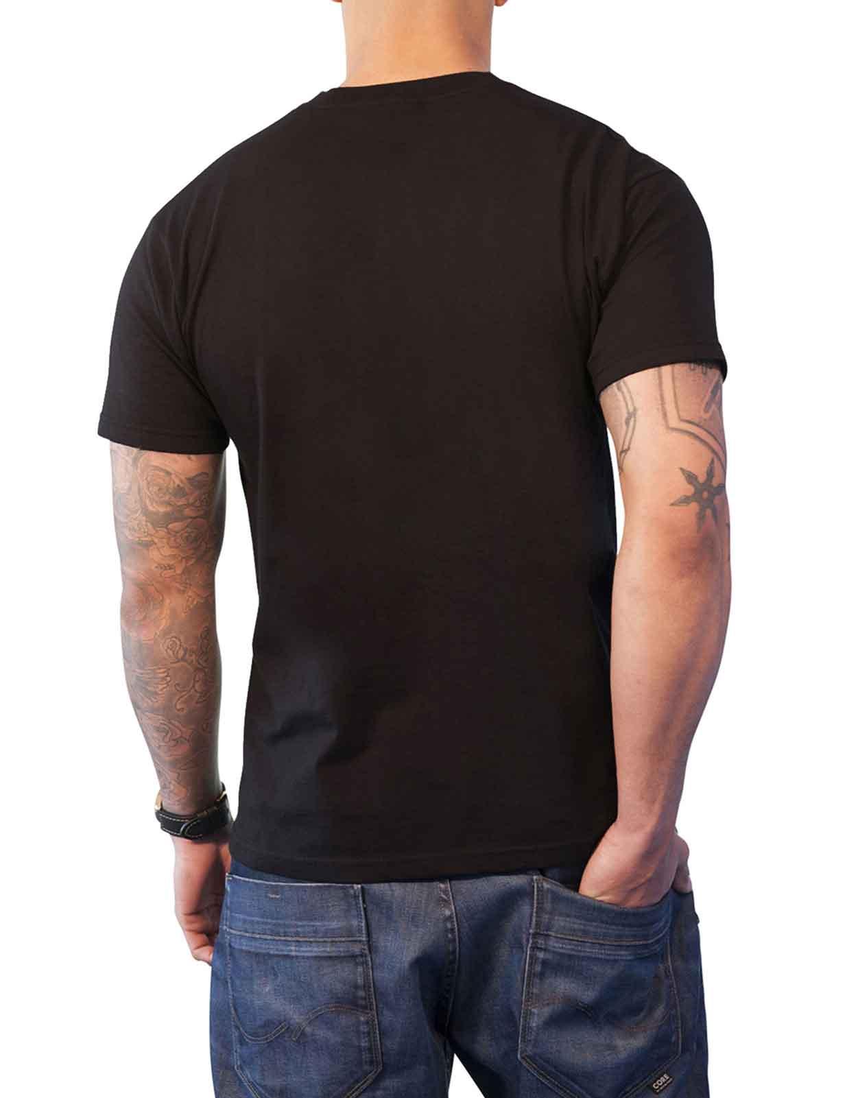 29cb4d5c788 Full Metal Jacket T Shirt Born to Kill Movie Poster new Official Mens Black