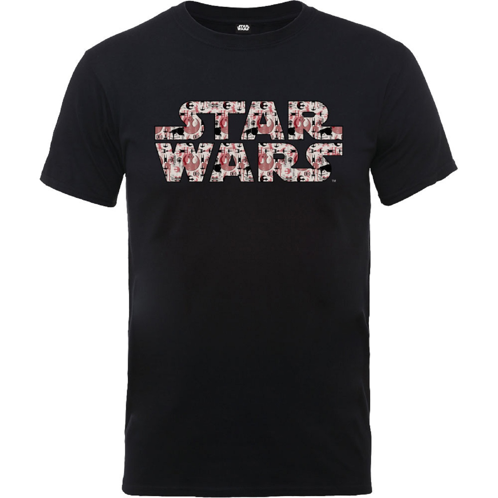 Star Wars T Shirt Rogue One Goodies Pattern Movie Logo