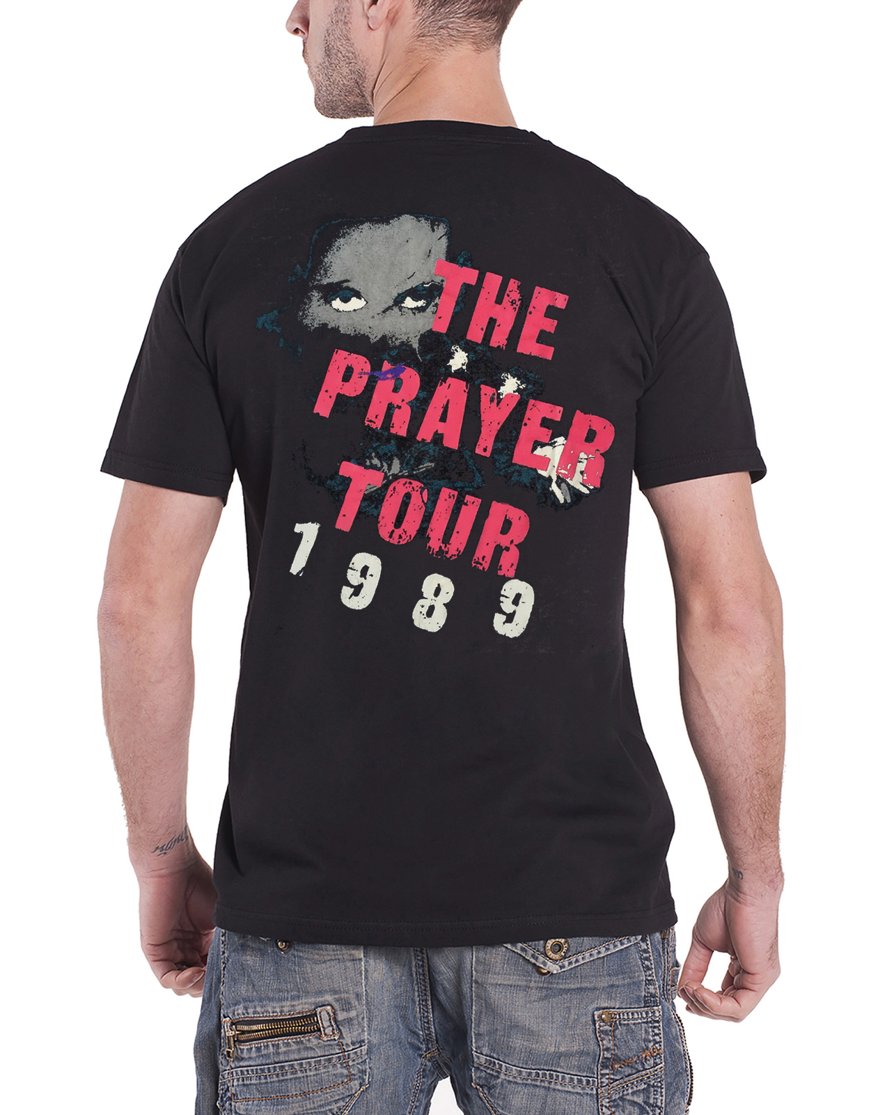 Official-The-Cure-T-Shirt-Boys-Dont-Cry-Classic-Band-Logo-The-Prayer-Tour-Mens thumbnail 14