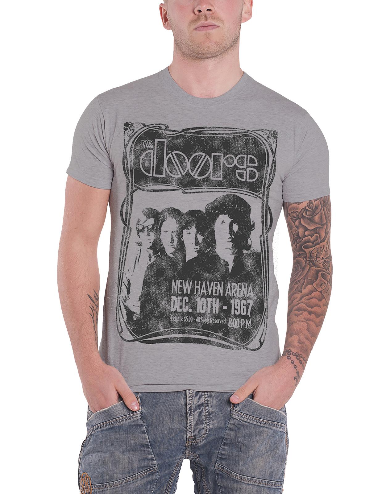 Officiel-The-Doors-T-Shirt-Jim-Morrison-poete-americain-Break-On-Through-Homme-NEUF miniature 42