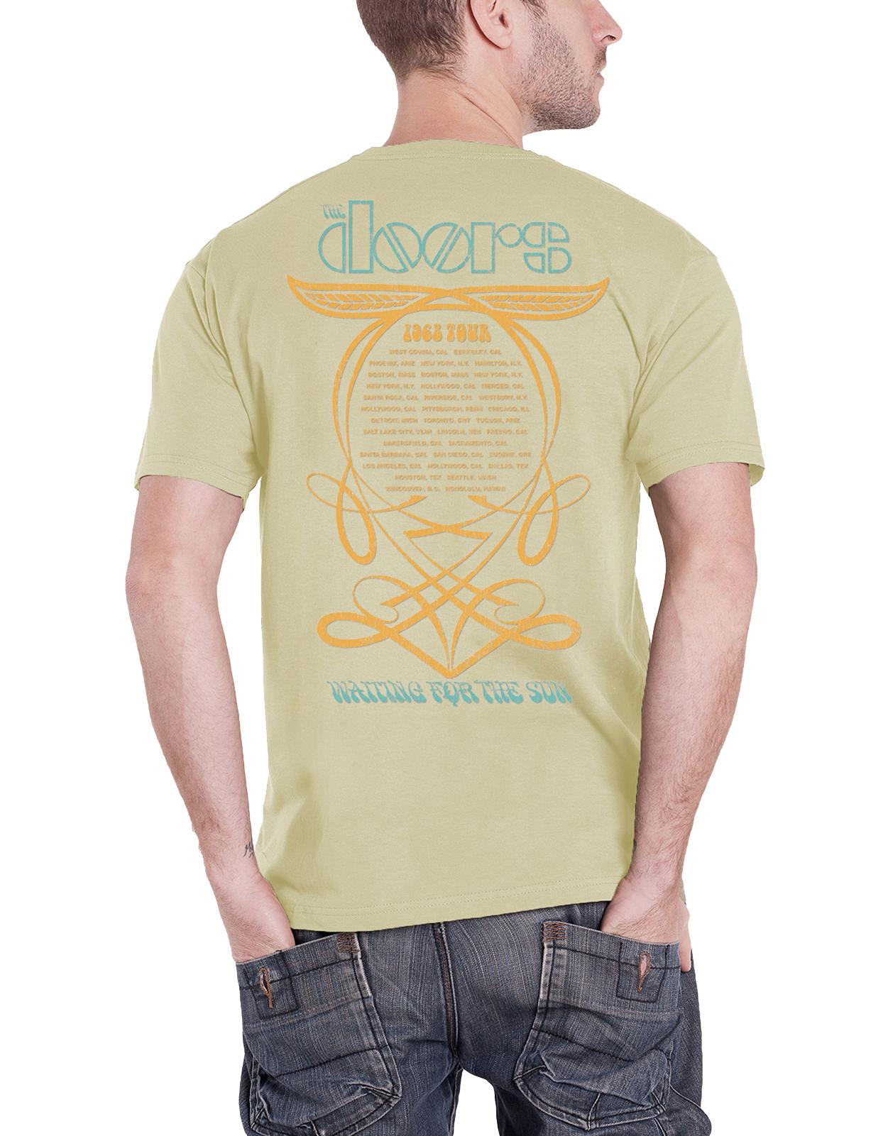 Officiel-The-Doors-T-Shirt-Jim-Morrison-poete-americain-Break-On-Through-Homme-NEUF miniature 3