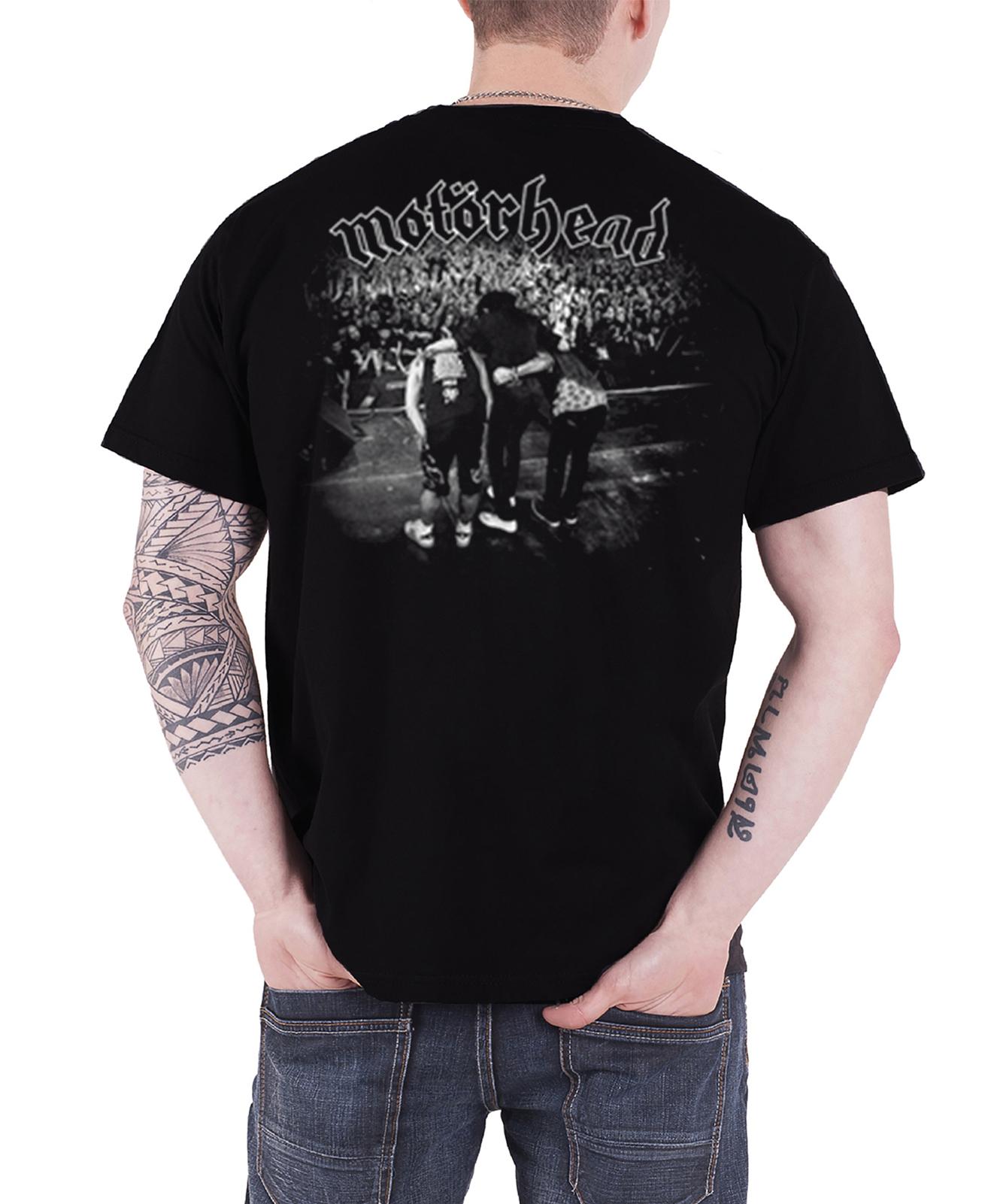 Motorhead-T-Shirt-Lemmy-RIP-England-warpig-clean-your-clock-official-new-mens Indexbild 15