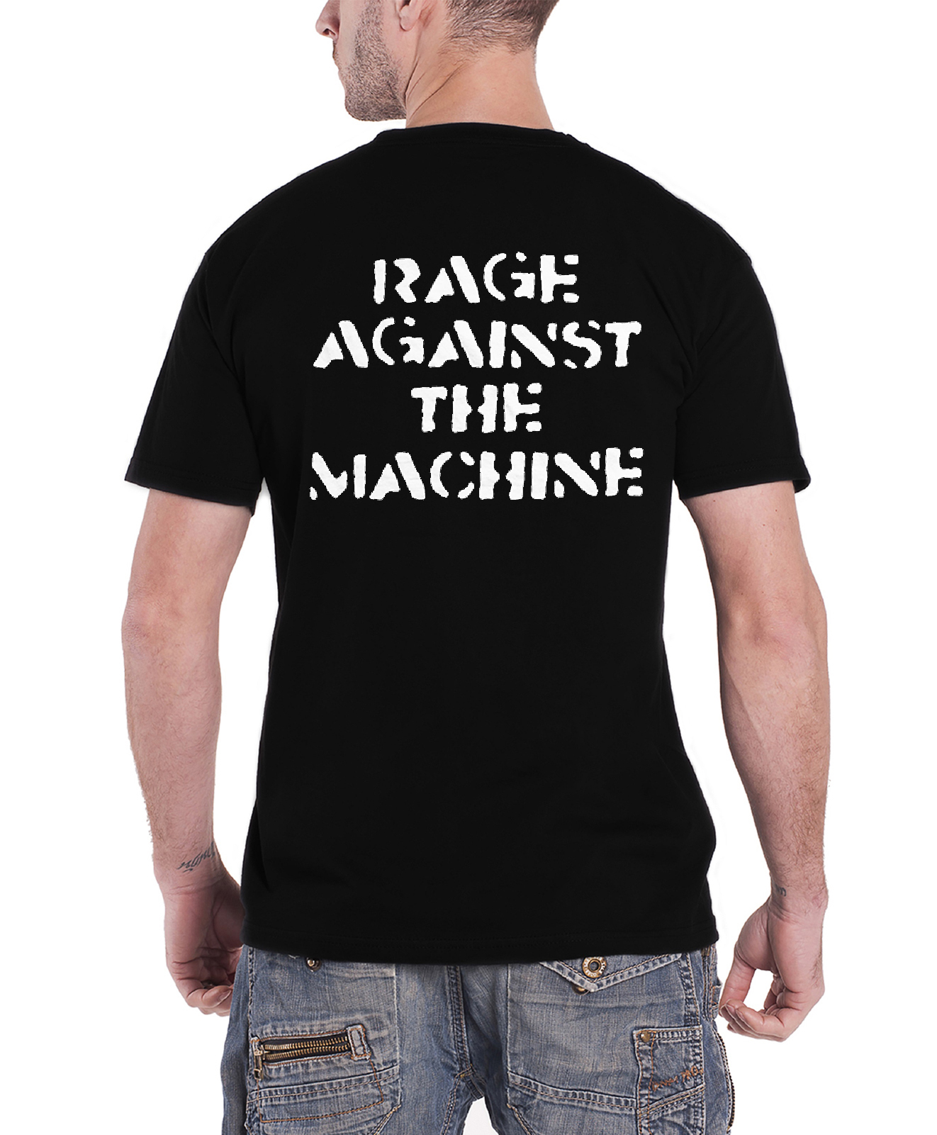 Rage-Against-The-Machine-T-Shirt-Bulls-on-parade-band-Logo-Wont-do-new-Official