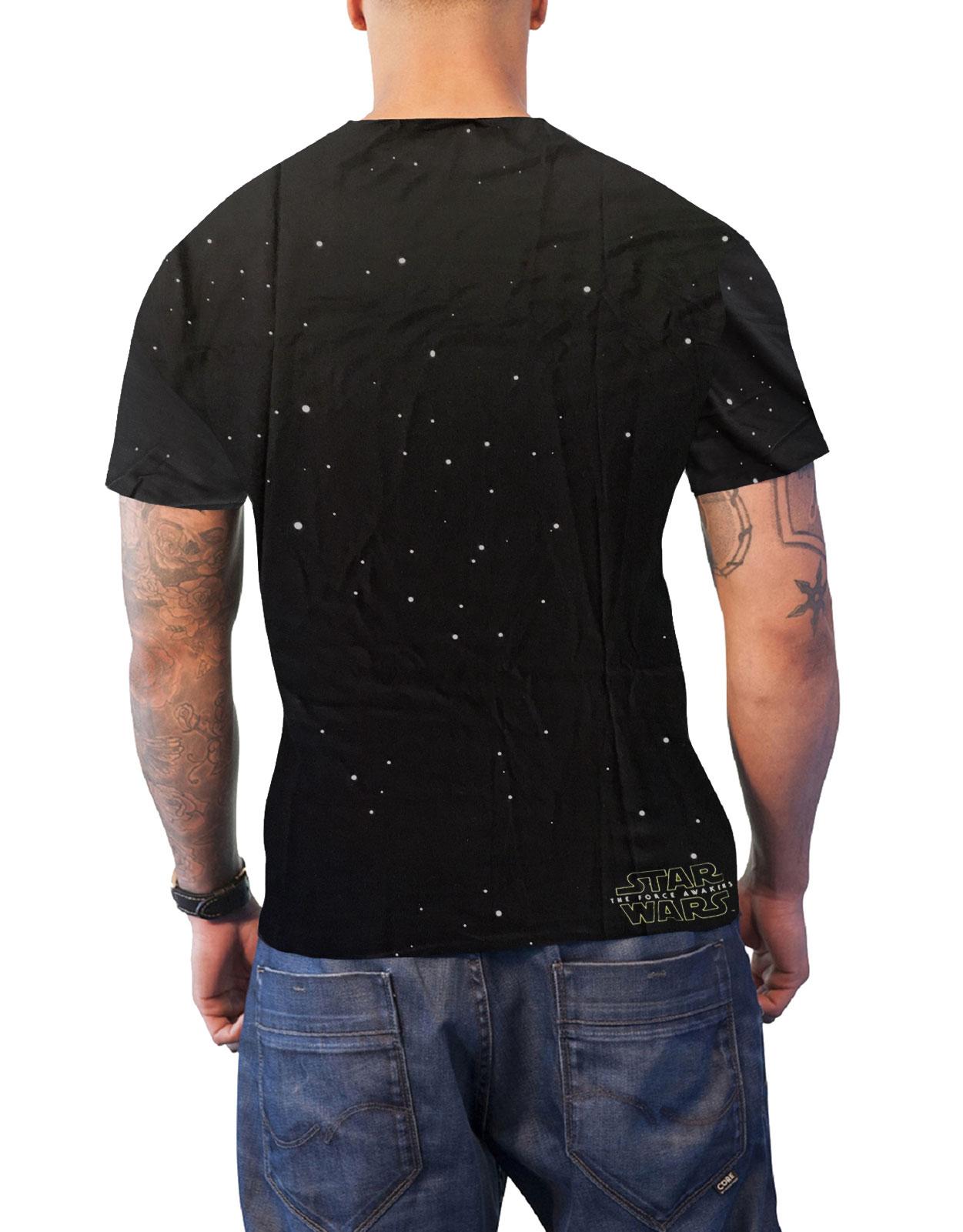 Star-Wars-Camiseta-Para-Hombres-Regreso-del-Jedi-R2D2-Luke-Leia-oficial-nuevo miniatura 3