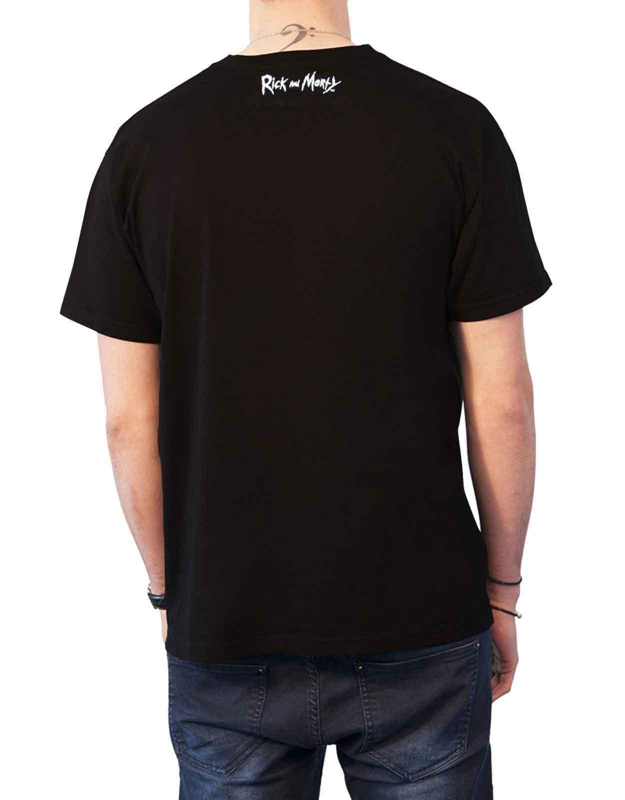 Rick-and-Morty-T-Shirt-Pickle-Rick-Portail-spirale-Wubba-Lubba-nouveau-officiel-Homme miniature 27