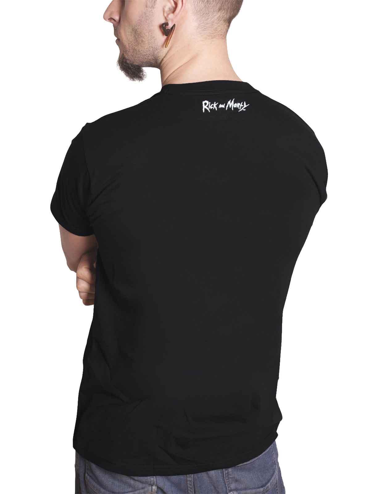 Rick-and-Morty-T-Shirt-Pickle-Rick-Portail-spirale-Wubba-Lubba-nouveau-officiel-Homme miniature 29
