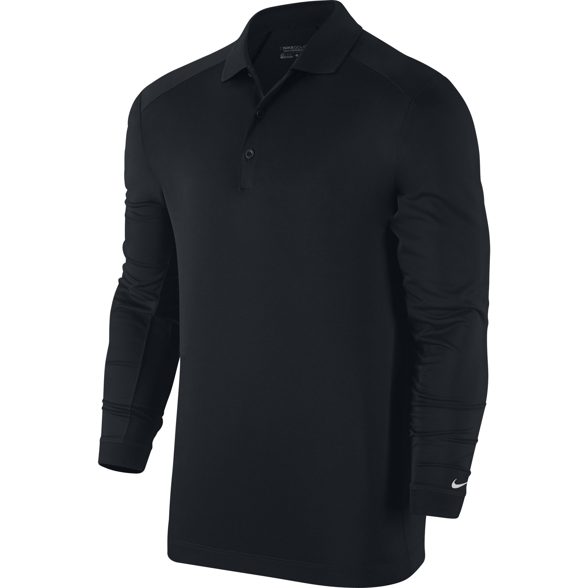 2015 Nike VICTORY Long Sleeve Polo Men's Dri Fit Golf ...