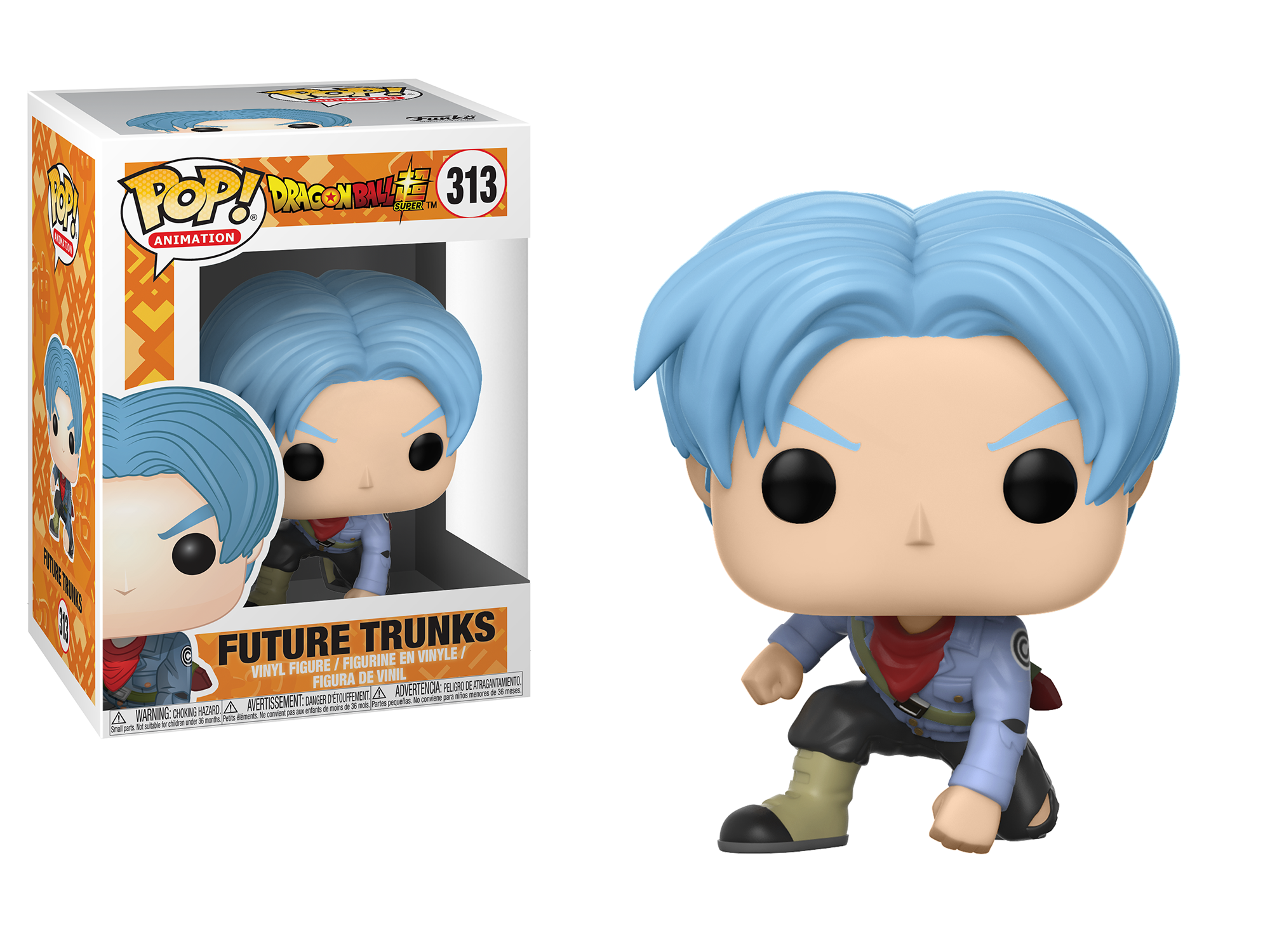 Details About Funko Pop Animation Dragonball Super Future Trunks 313