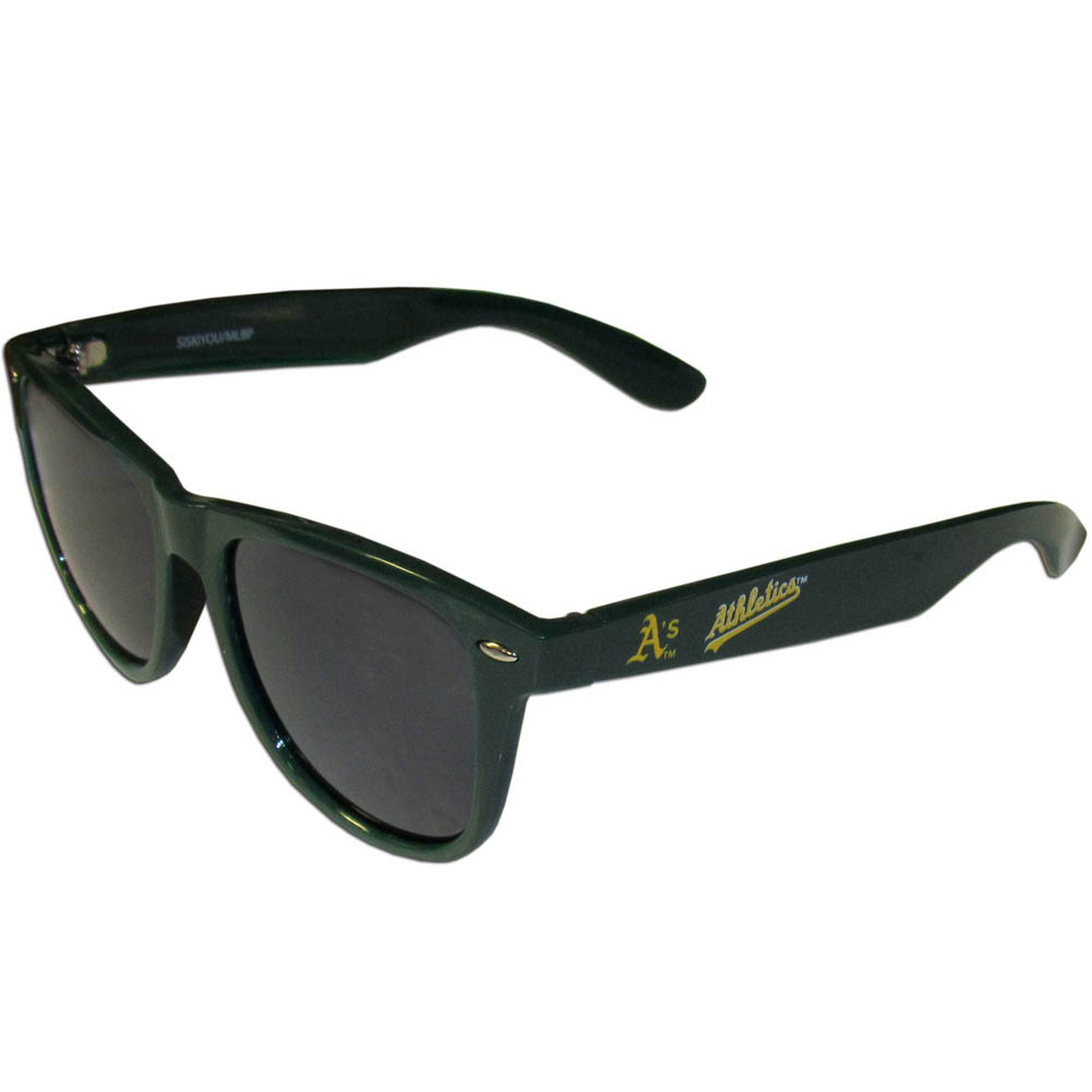 ecaf8960486e Details about MLB Baseball Beachfarer Sunglasses RETRO Team Logo Pick your  Team Sun Glasses