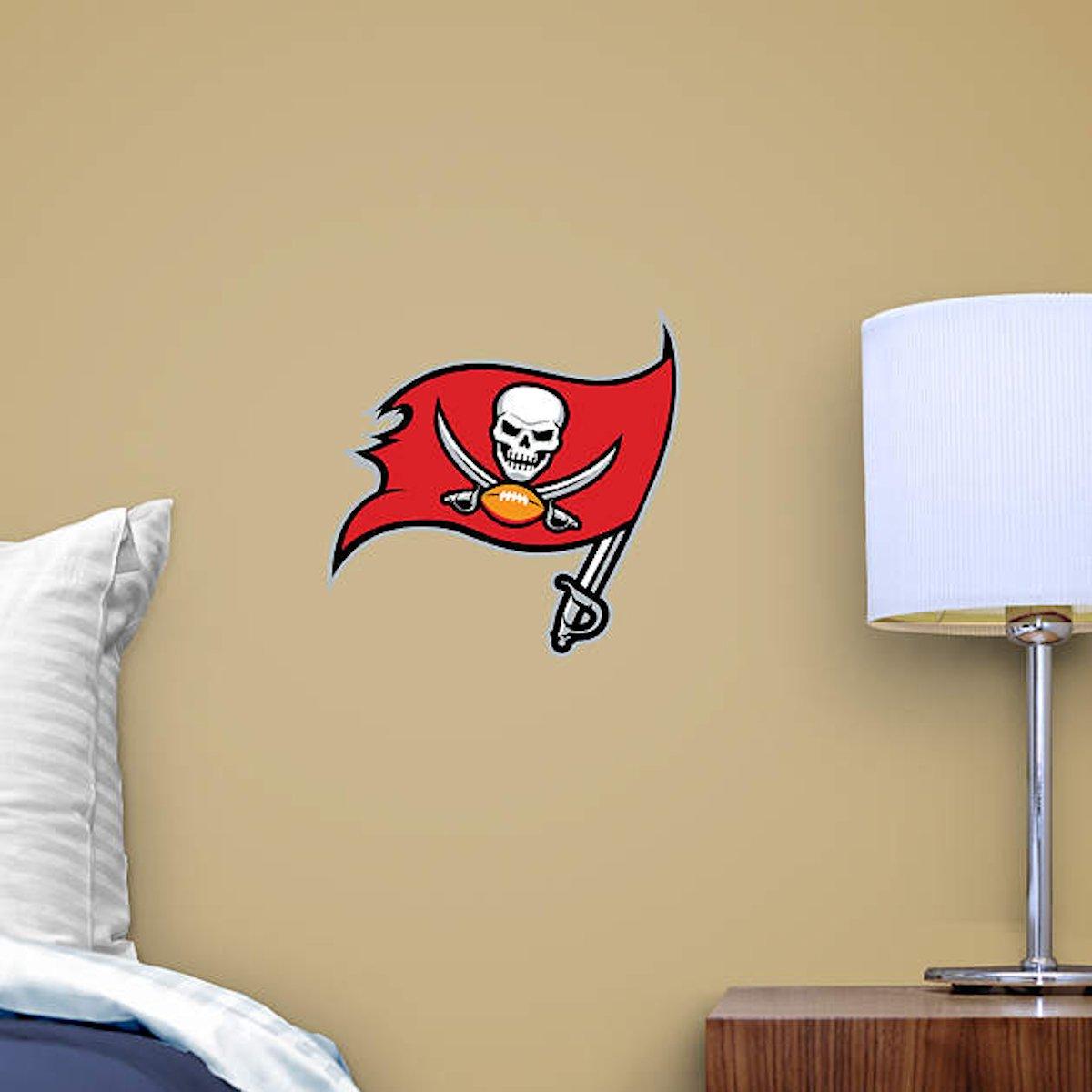 NFL Tampa Bay Buccaneers Logo Fathead Wall Decal 15 X 12\
