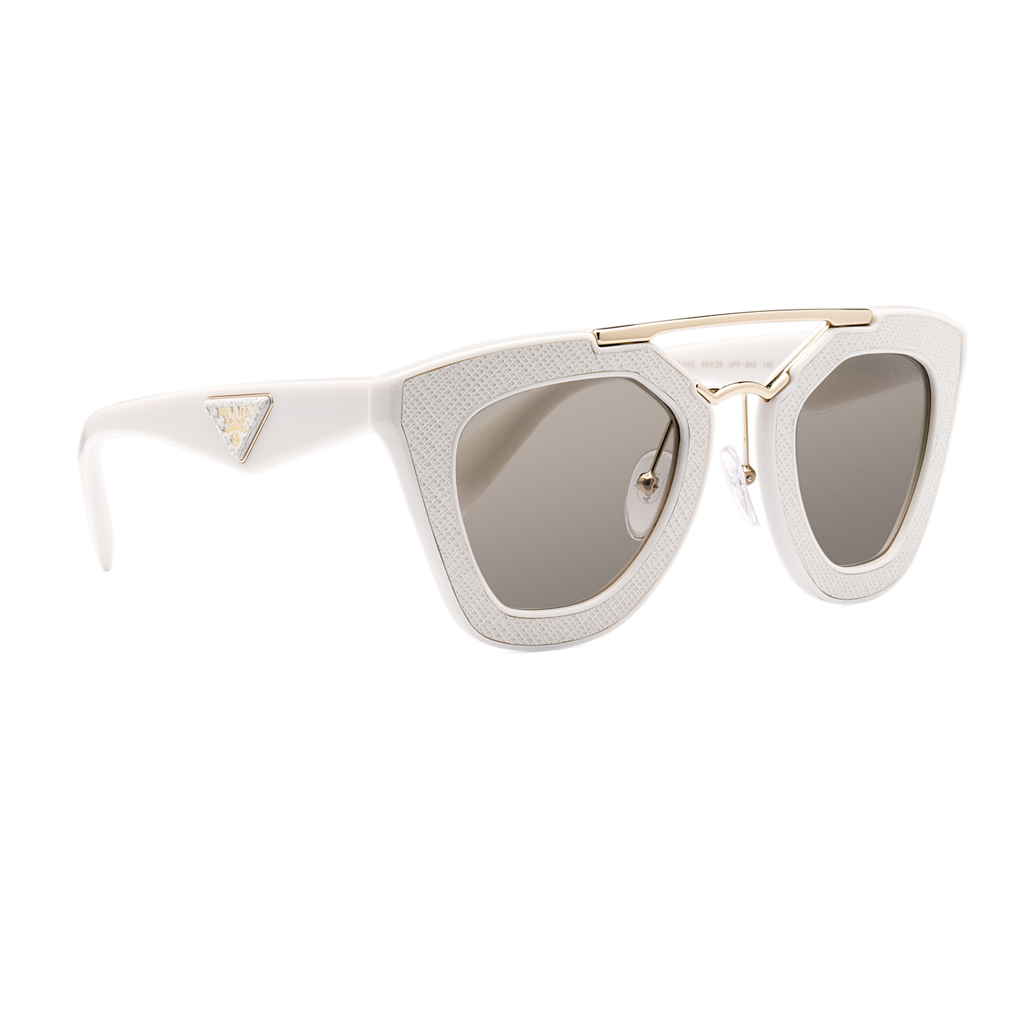 38130a4ed0a Prada 14SS Sunglasses UFP3H2 Ivory   Brown Gradient 8053672536416
