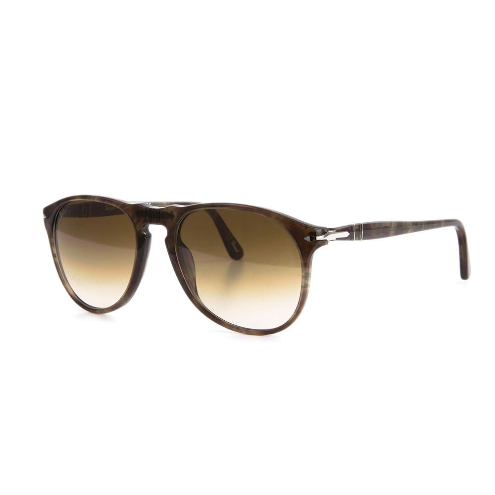 e07bf4a10c7cf Persol 9649 Aviator Sunglasses 972 51 Smokey Havana   Brown Gradient 52 mm