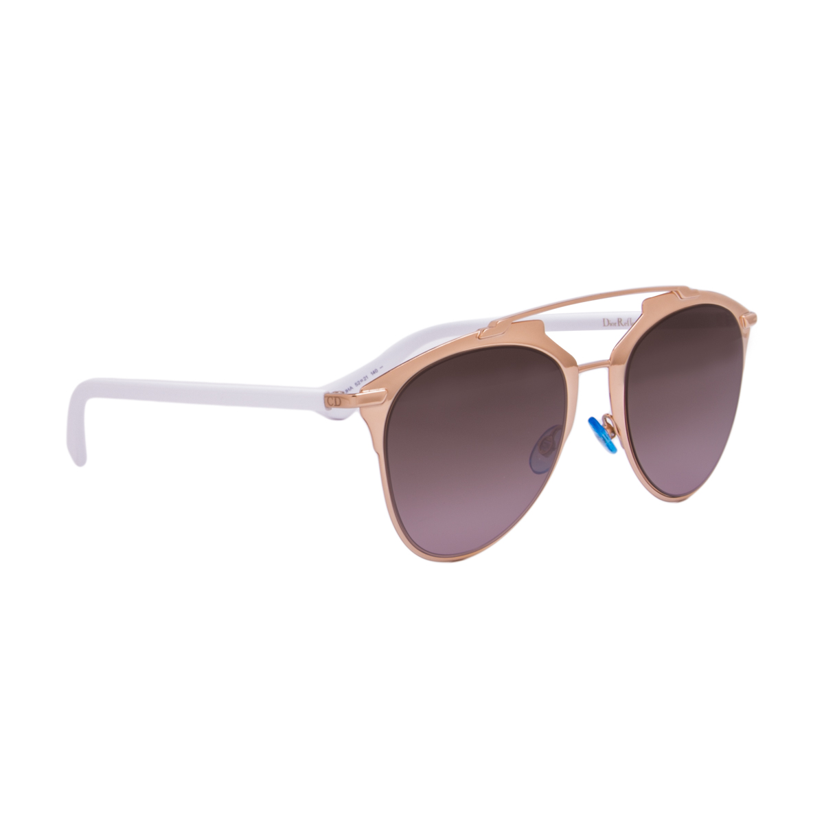 0dc3eee9647 Christian Dior Reflected Sunglasses Rose Gold