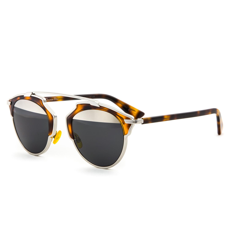 234da63b675 Dior So Real Sunglasses Havana And Silver