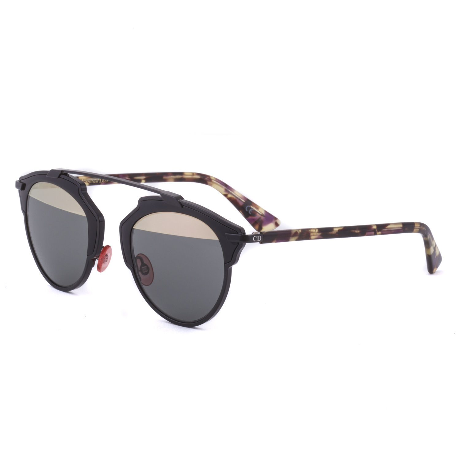 dde82c57df85 Dior So Real Sunglasses Black And Pink