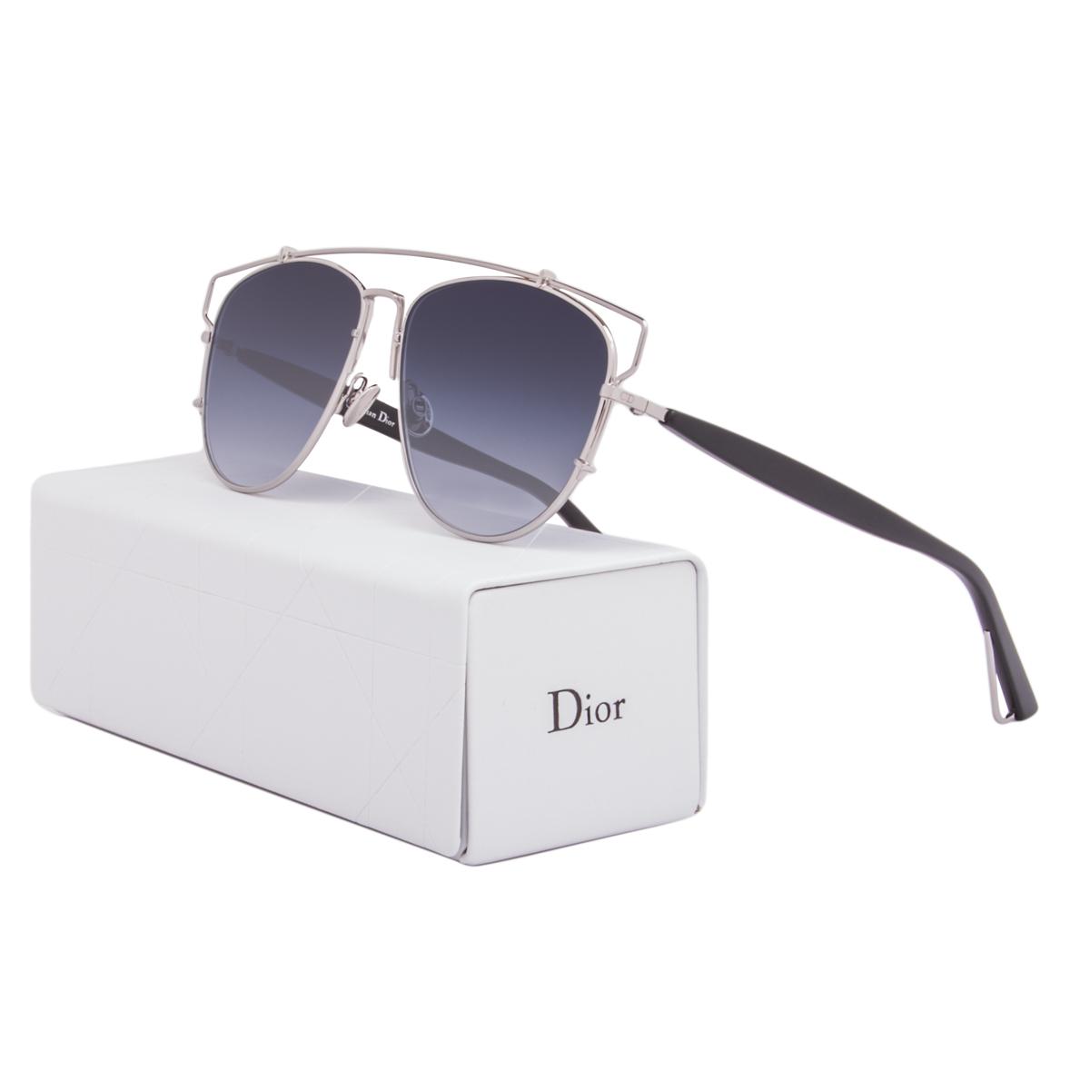 07b924acfe8e8 Dior Sunglasses Dior Technologic 84J84 Palladium Silver   Blue ...