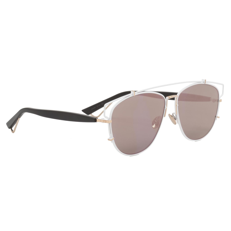 4721c0f5f9e Dior Technologic Sunglasses XG9AP White Gold Black   Green Pink Rose ...