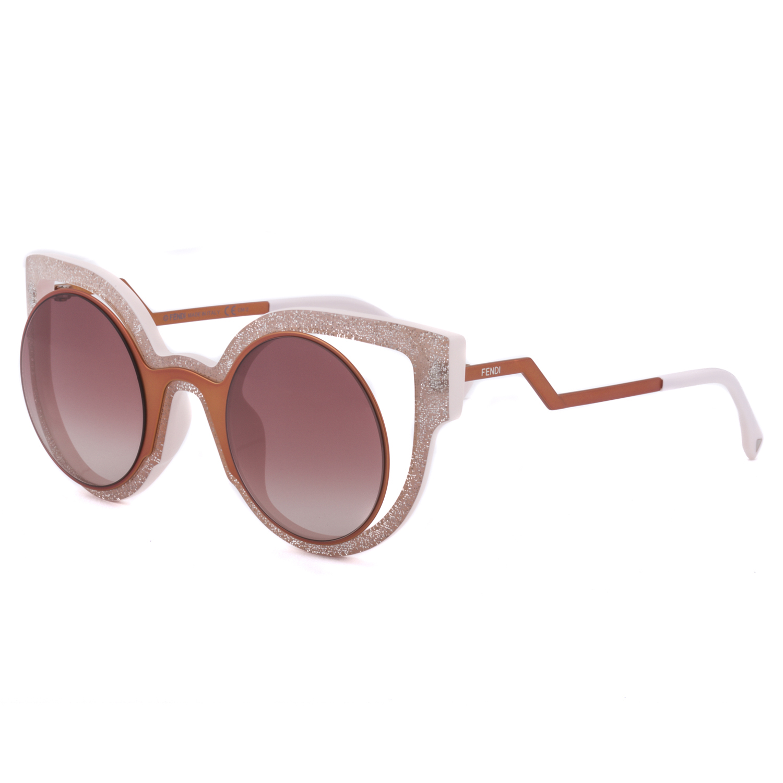 de716448bfa1 Fendi Metallic Pink Sunglasses