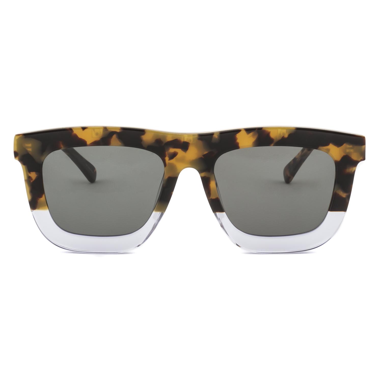 43c8444a58b Karen Walker Deep Orchard Rectangular Womens Sunglasses Tortoise Brown Frame
