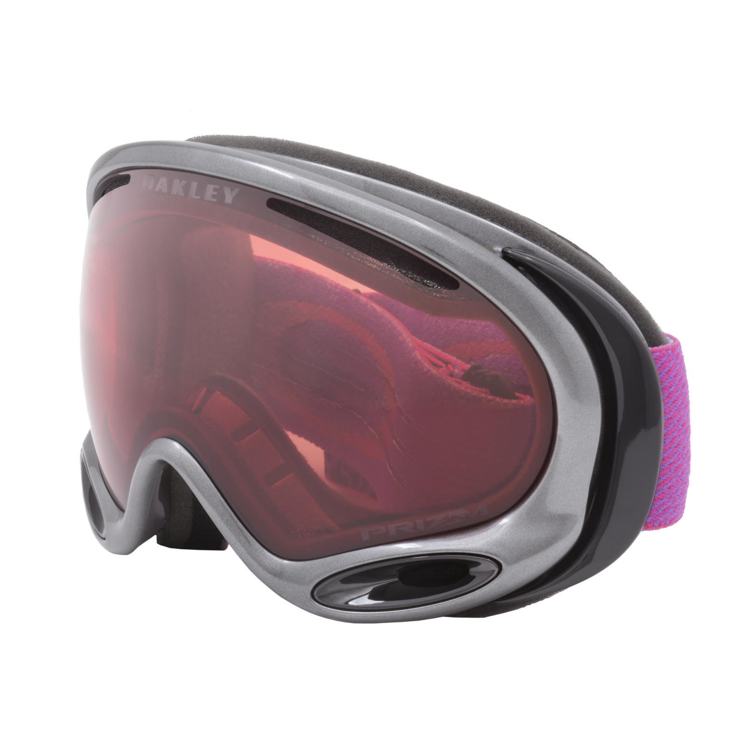 655085d51f Oakley A Frame 2.0 Prizm Snow Goggles OO7044-63 Gi Camo Purple Pink   Prizm  Rose. main image