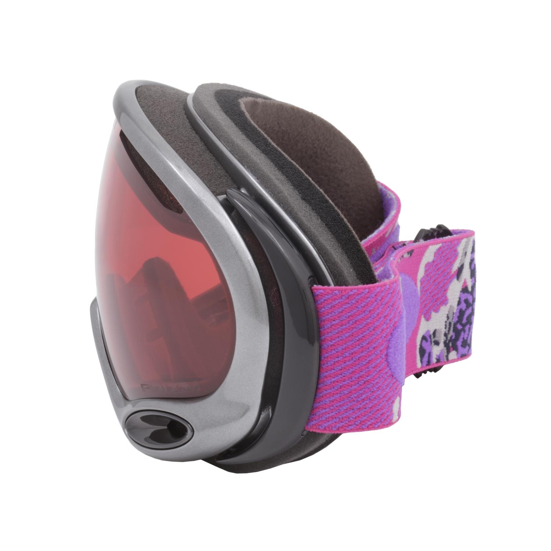 e43a2e3487 Oakley A Frame 2.0 Prizm Snow Goggles OO7044-63 Gi Camo Purple Pink   Prizm  Rose