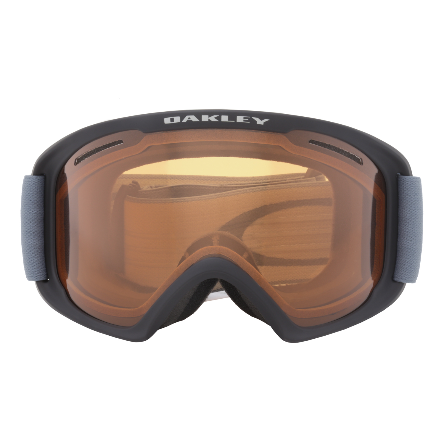 oakley o frame 20 xl snow goggles oo7045 27 black blue persimmon lens
