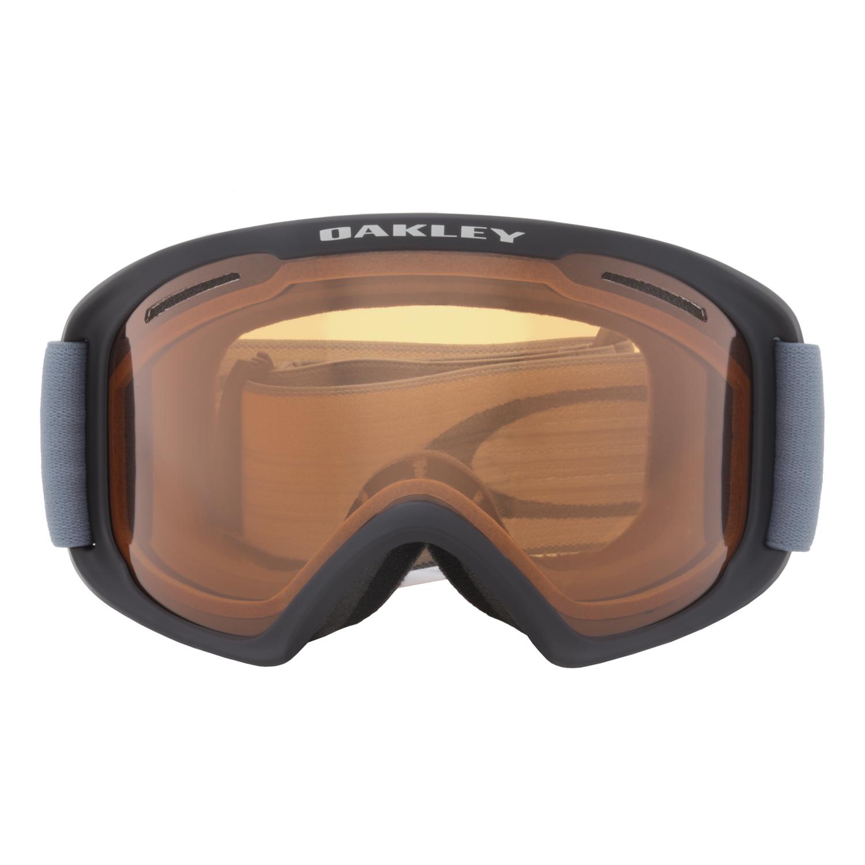 oakley o frame ski goggles  Oakley O Frame 2.0 XL Snow Goggles OO7045-27 Black Blue ...