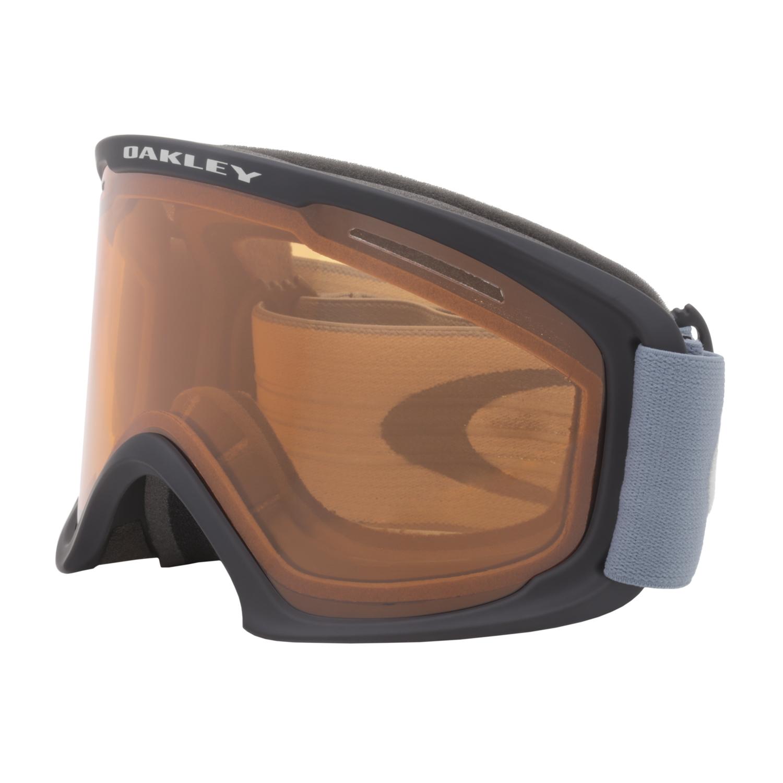 oakley o frame snow goggles  Oakley O Frame 2.0 XL Snow Goggles OO7045-27 Black Blue ...