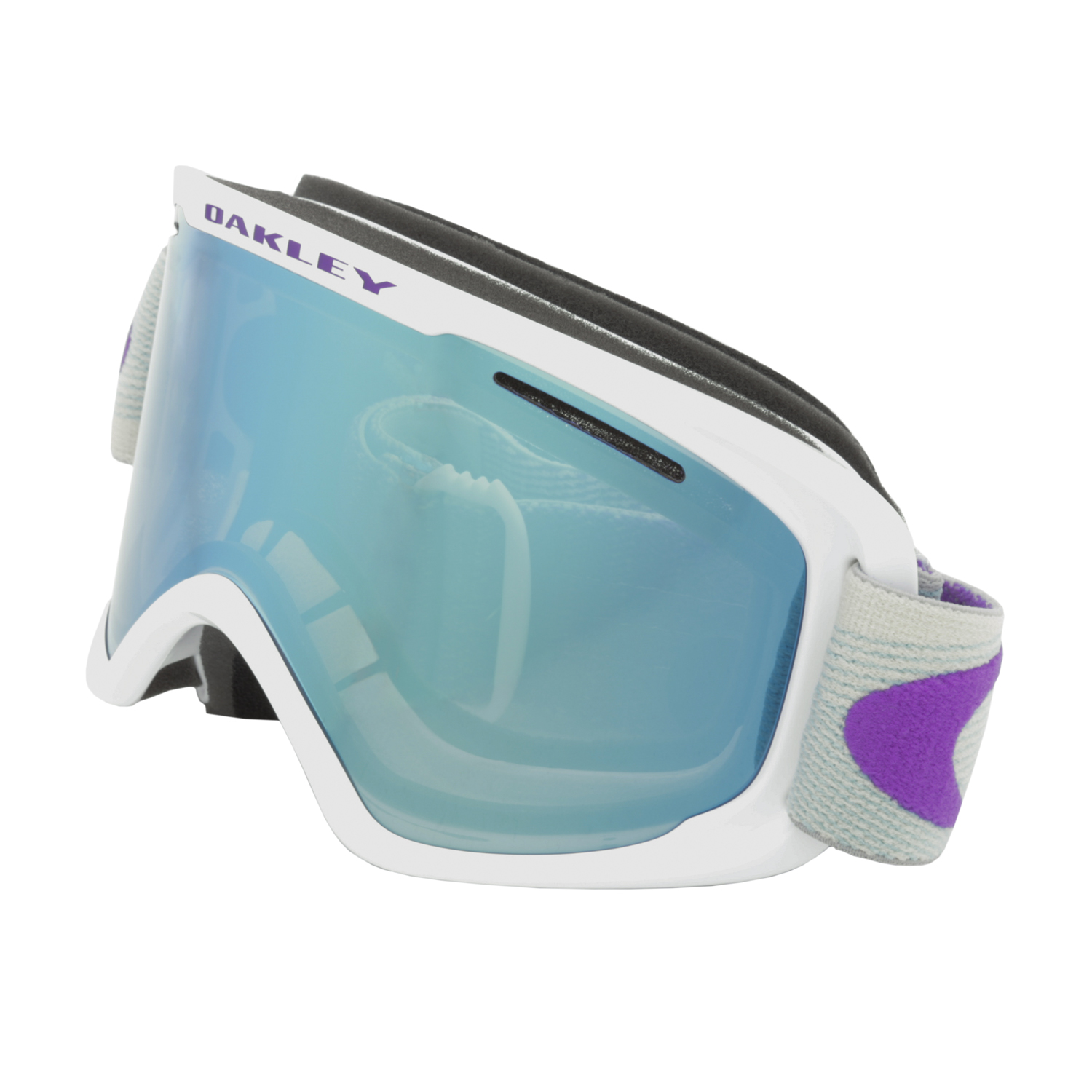 cfa502e0cd Details about Oakley O Frame 2.0 XM Snow Goggles OO7066-39 Abstract Lines  Purple Blue   Violet