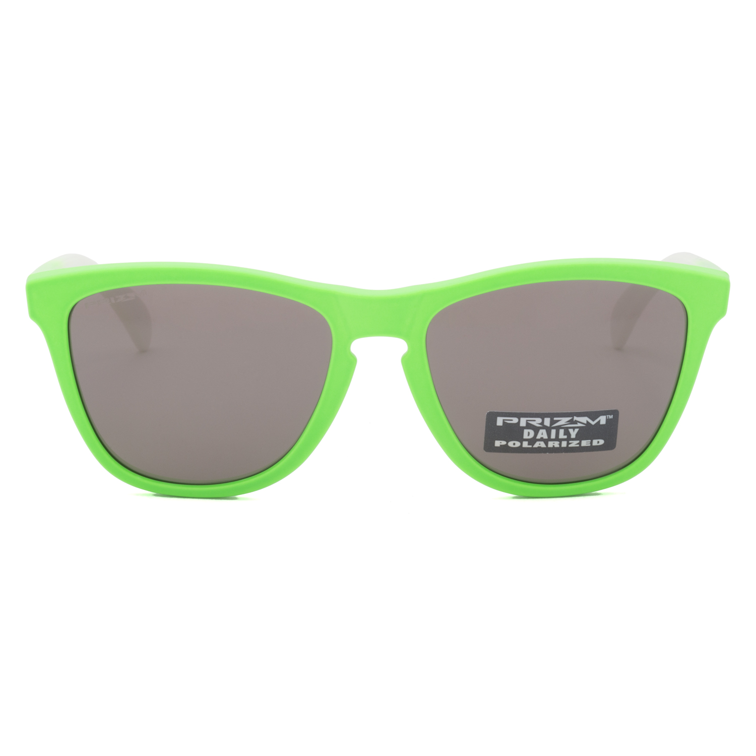 0e08876c9d Oakley Frogskins Sunglasses OO9013-99 Green Fade   Prizm Daily Polarized