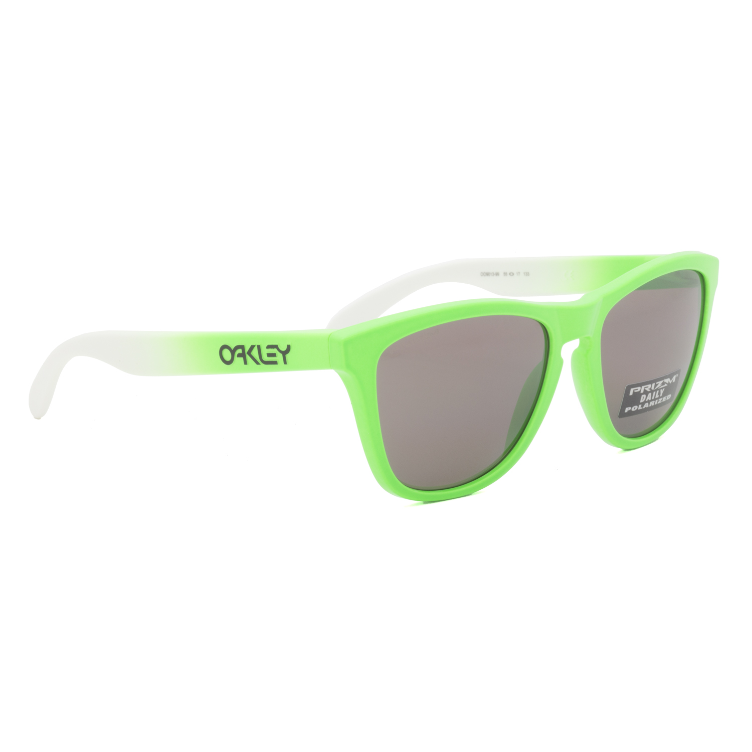 7750130f3d Oakley Frogskins Sunglasses OO9013-99 Green Fade   Prizm Daily Polarized