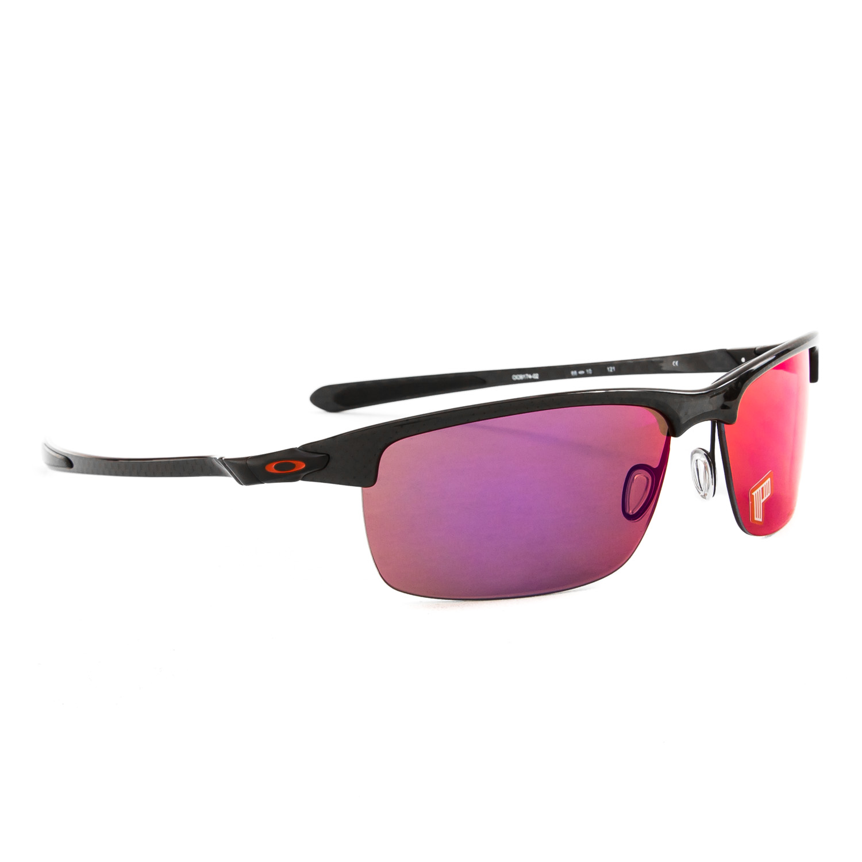 NEW Oakley Carbon Blade Sunglasses Black Frame Red Polarized ...