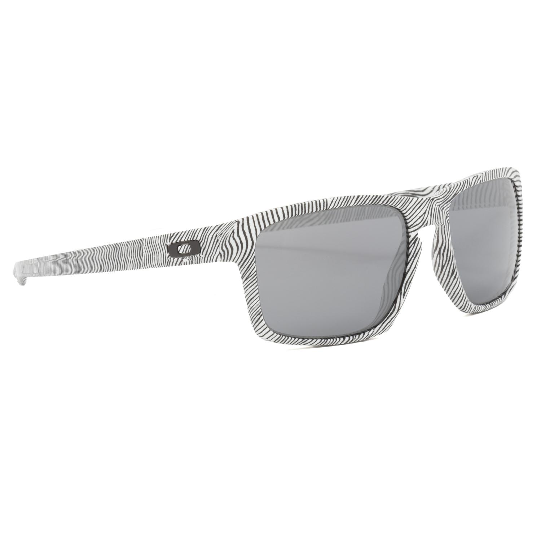 Oakley Sliver Sonnenbrille Fingerprint White/Black Iridium kJblpNj