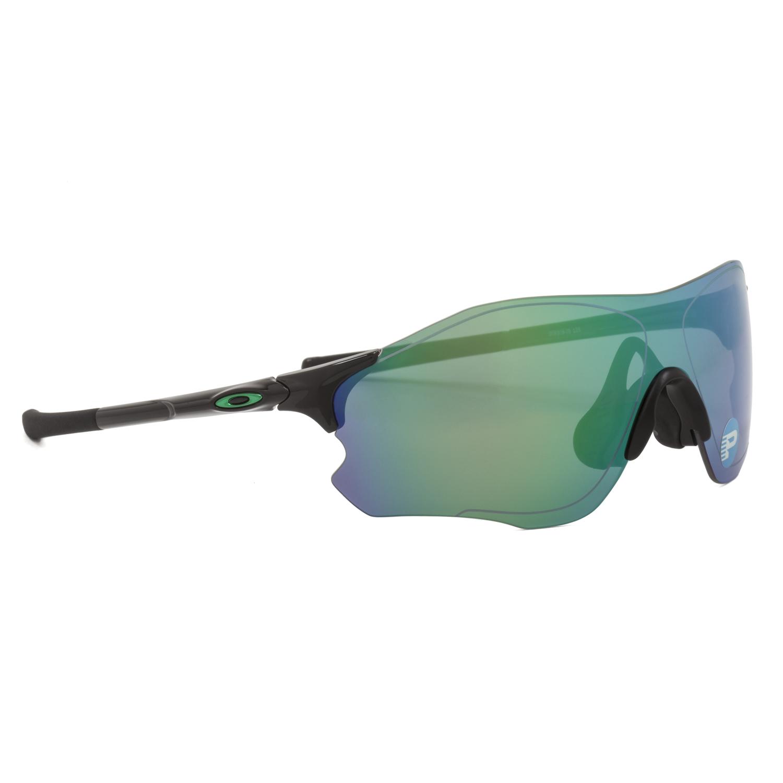 b2b6aab68e4 Oakley Evzero Path Sunglasses OO9308-08 Black   Jade Green Iridium Polarized