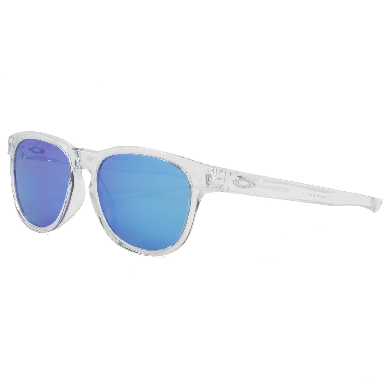 Oakley Stringer Sunglasses OO9315-06 Polished Clear Frame Sapphire ...
