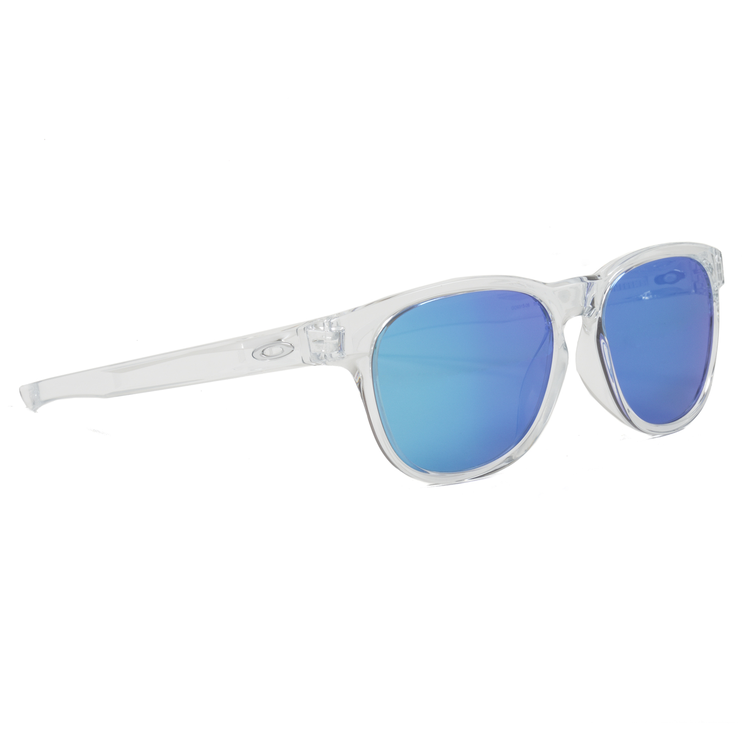 Oakley Stringer Sunglasses OO9315-06 Polished Clear Frame Sapphire ...
