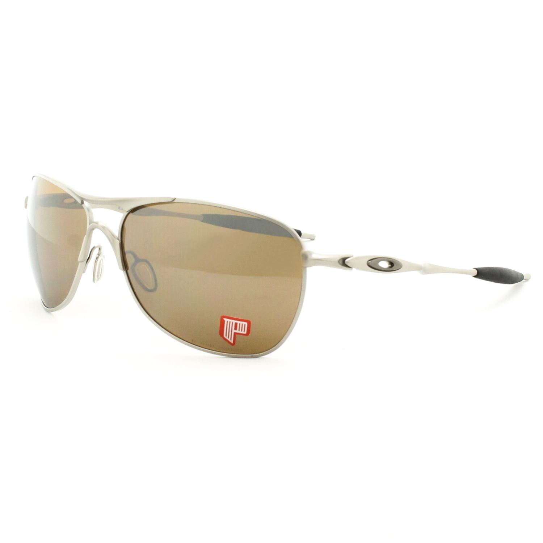 6cfb83843c1 Oakley Titanium Crosshair Sunglasses OO6014-01 Titanium