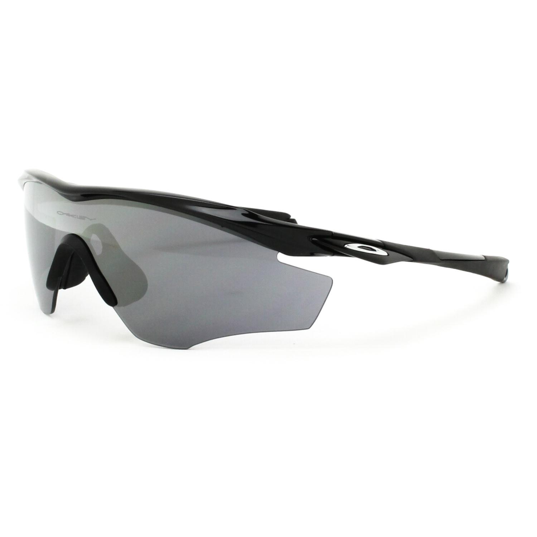 Oakley M2 Frame Sunglasses OO9212-01 Polished Black Frame Black ...