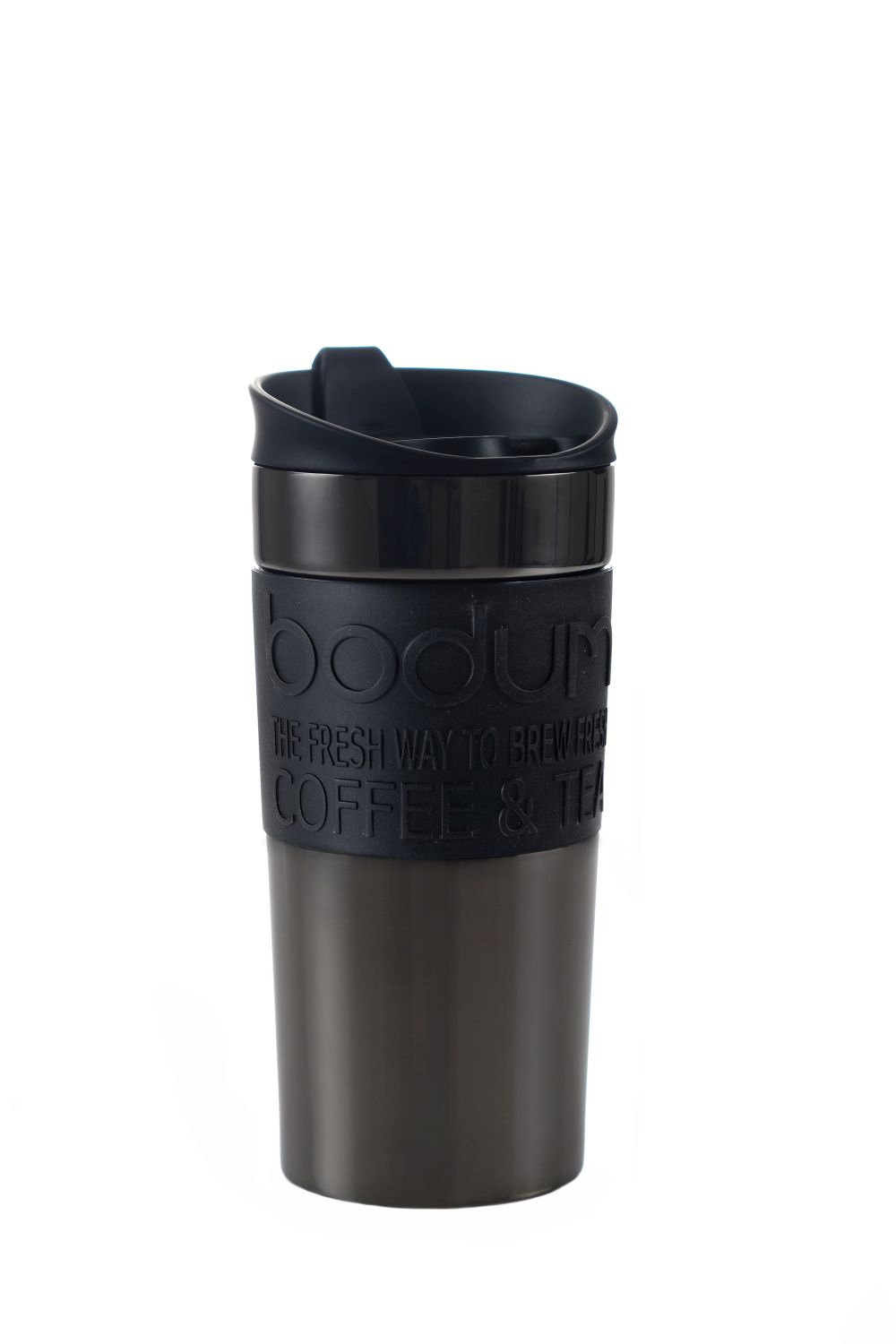 Bodum Travel Mug Spill Resistant Lid Vacuum Insulated