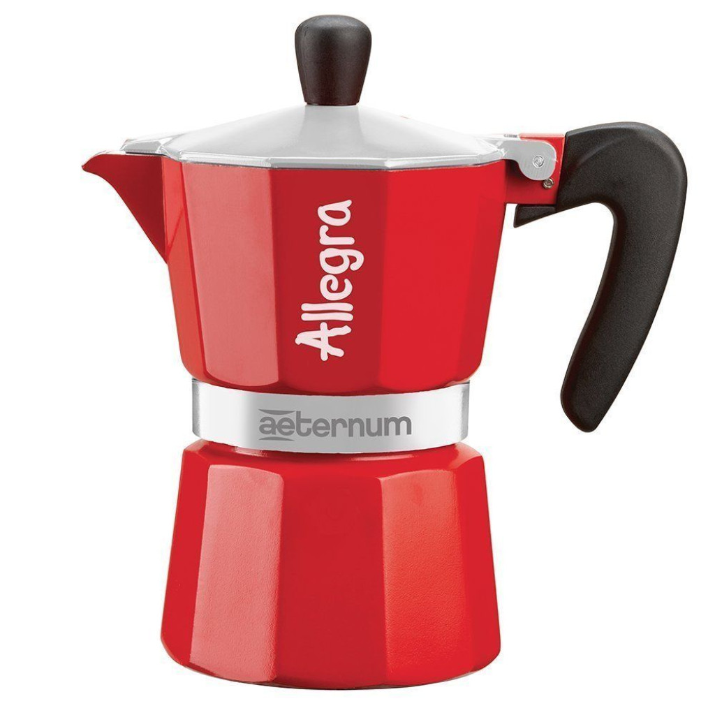 Stovetop Coffee Maker Handle : Bialetti Aeternum Allegra - Stovetop Espresso Maker Aluminium w/ Black Handle eBay