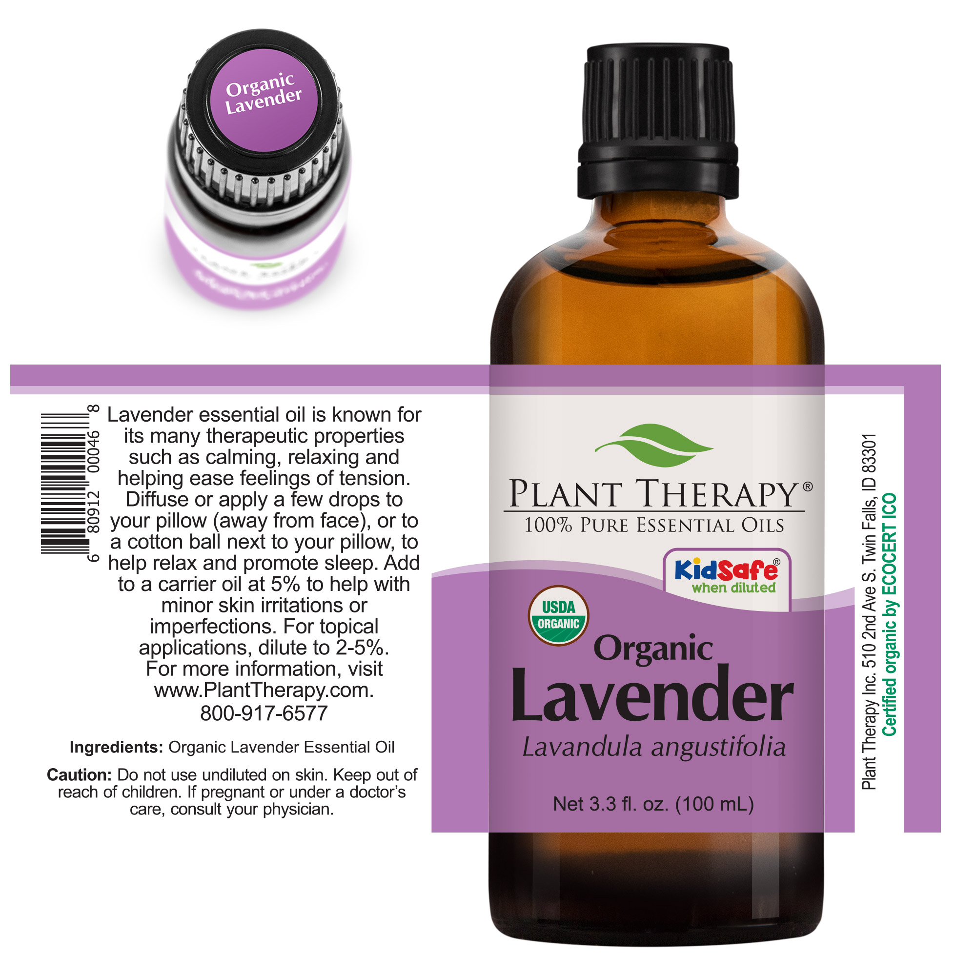 Plant-Therapy-Lavender-Organic-Essential-Oil-100-Pure-Undiluted thumbnail 11