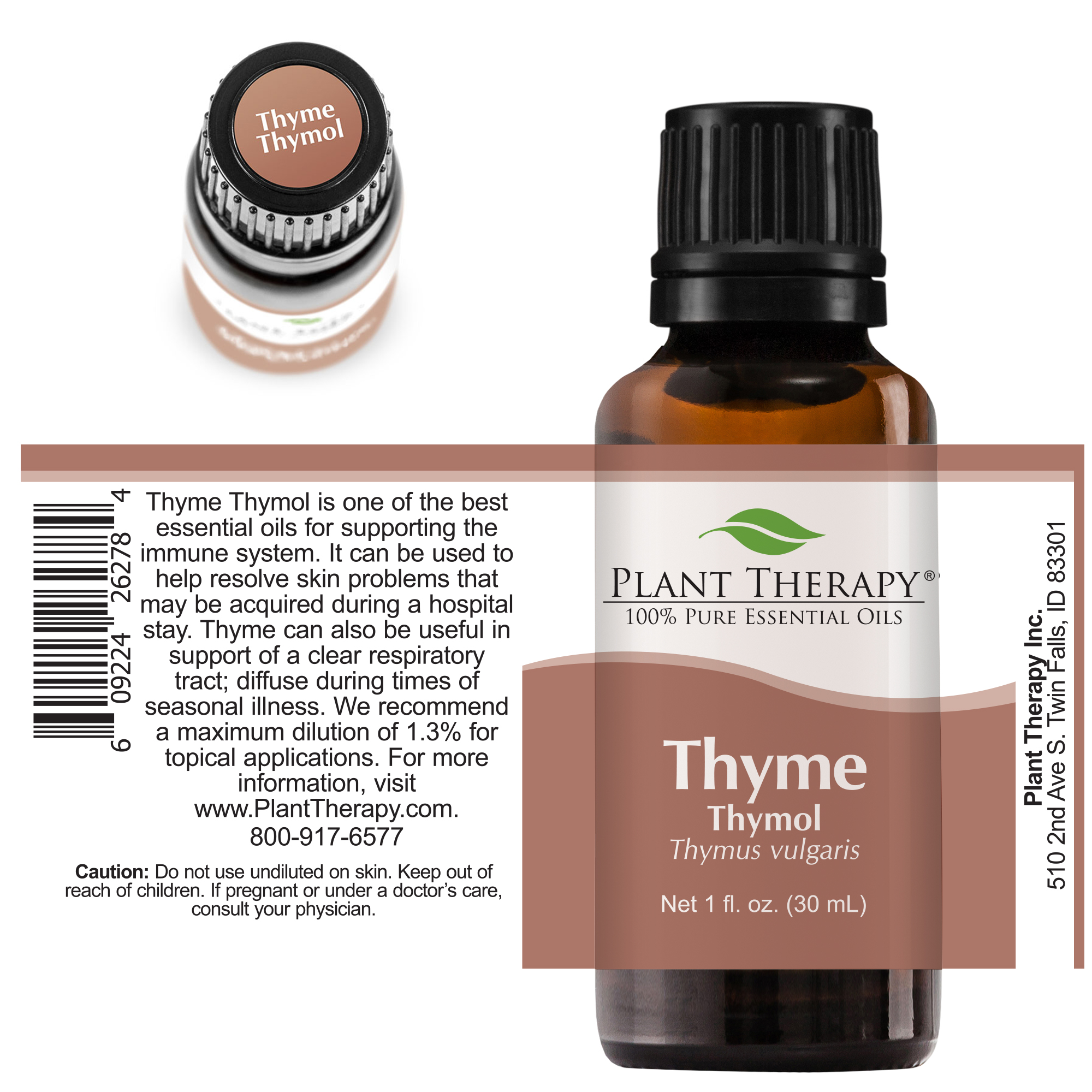 Plant-Therapy-Thyme-Thymol-Essential-Oil-100-Pure-Undiluted thumbnail 16