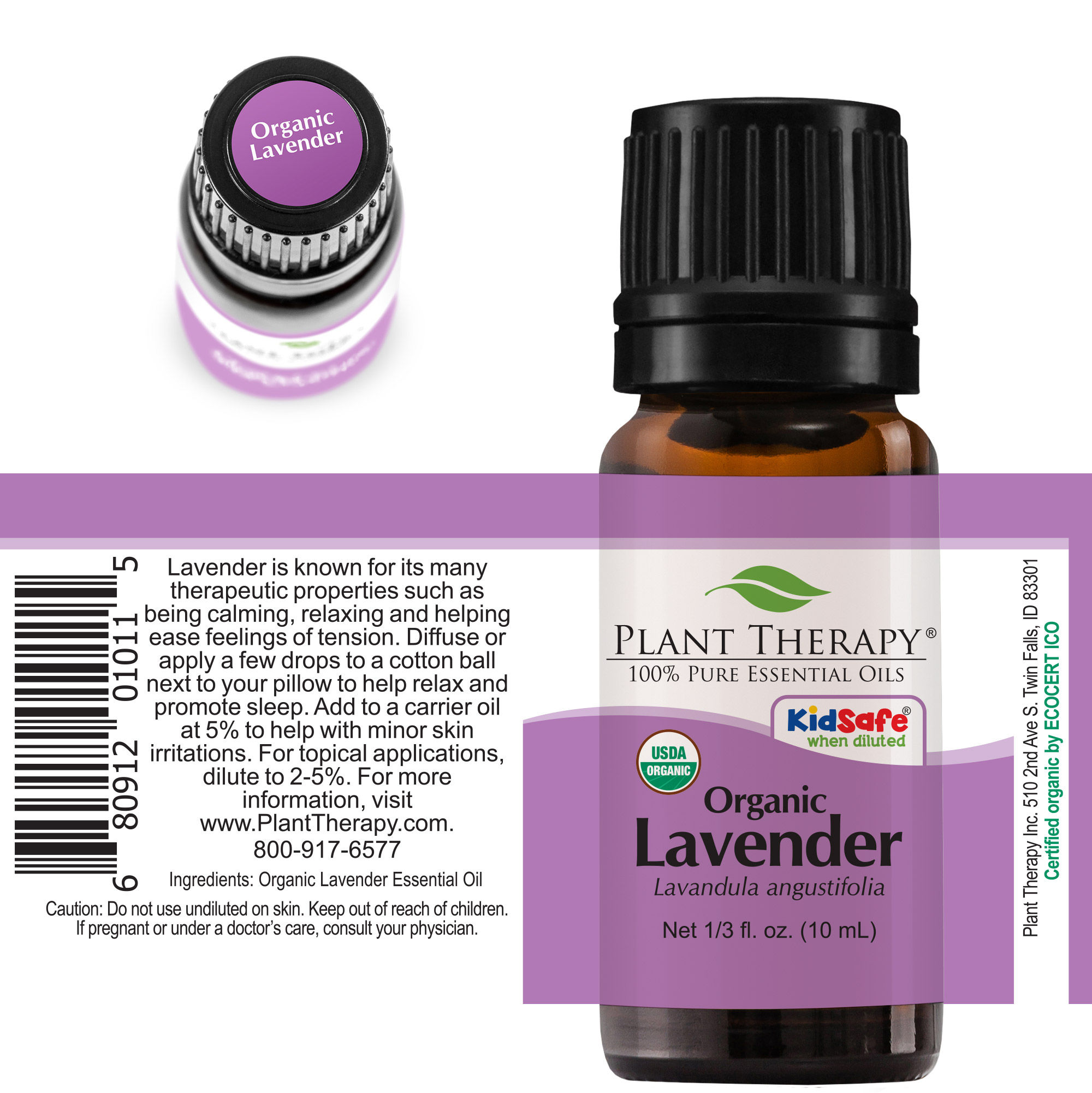 Plant-Therapy-Lavender-Organic-Essential-Oil-100-Pure-Undiluted thumbnail 6