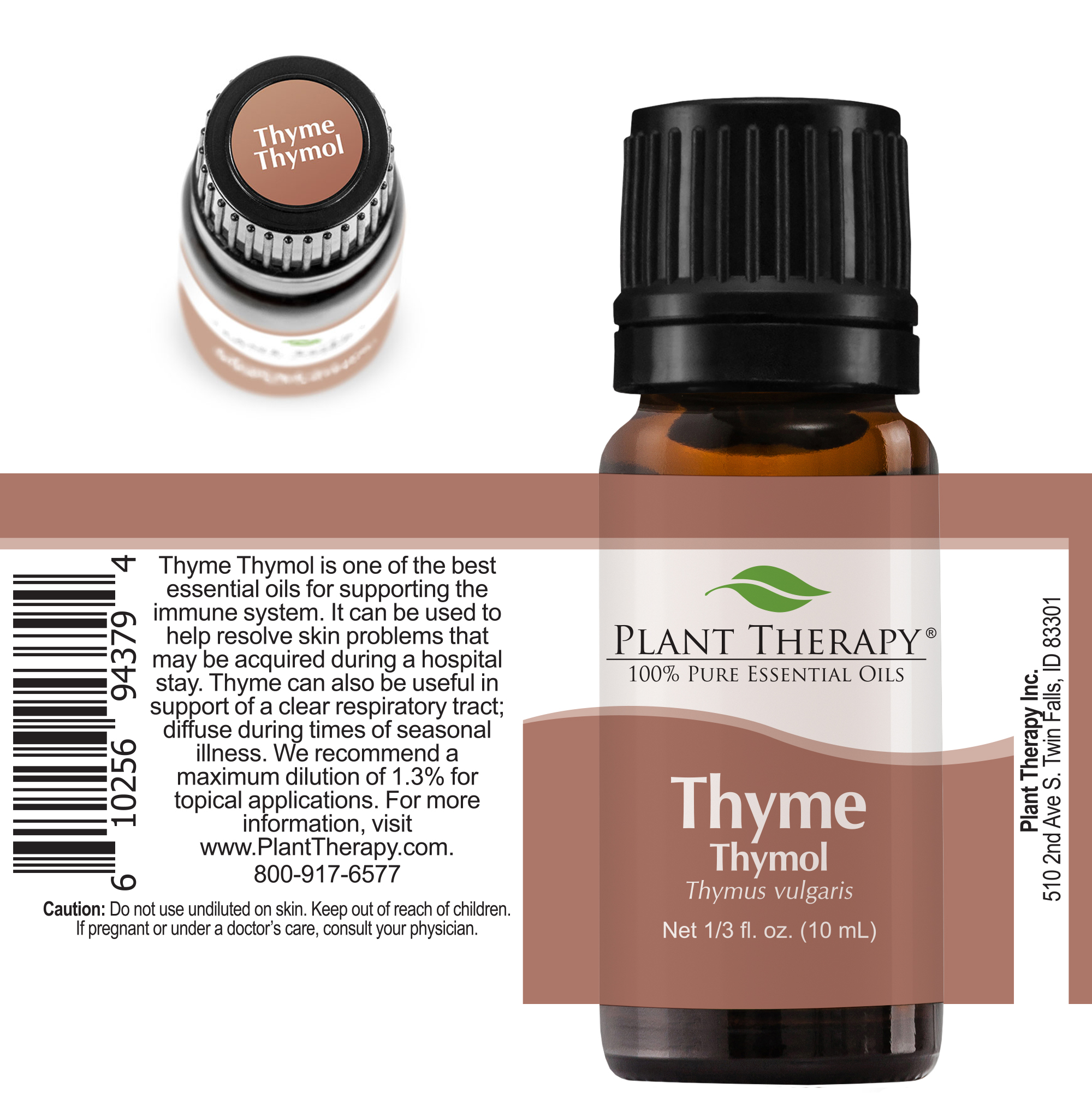 Plant-Therapy-Thyme-Thymol-Essential-Oil-100-Pure-Undiluted thumbnail 6