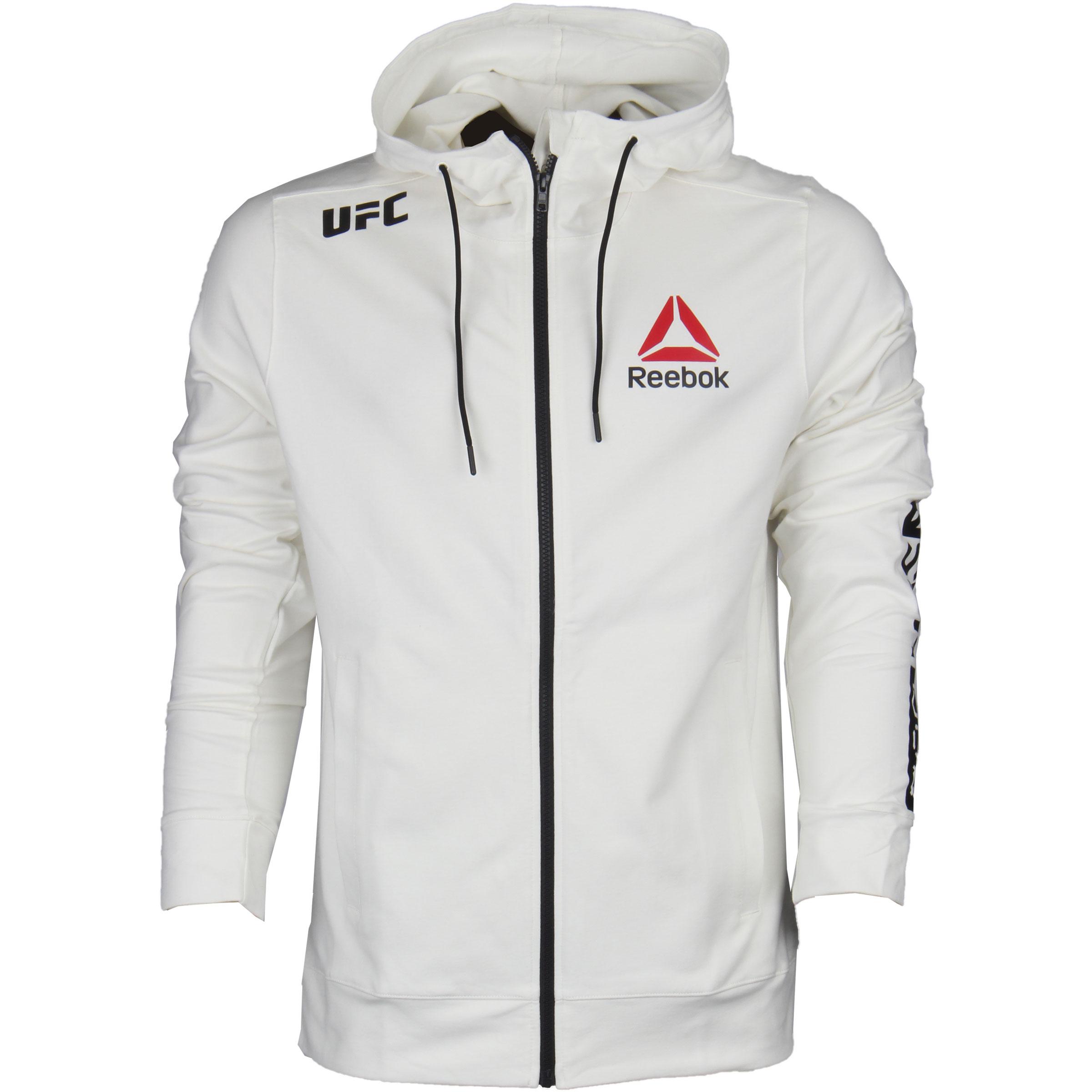 reebok ufc hoodie womens grey