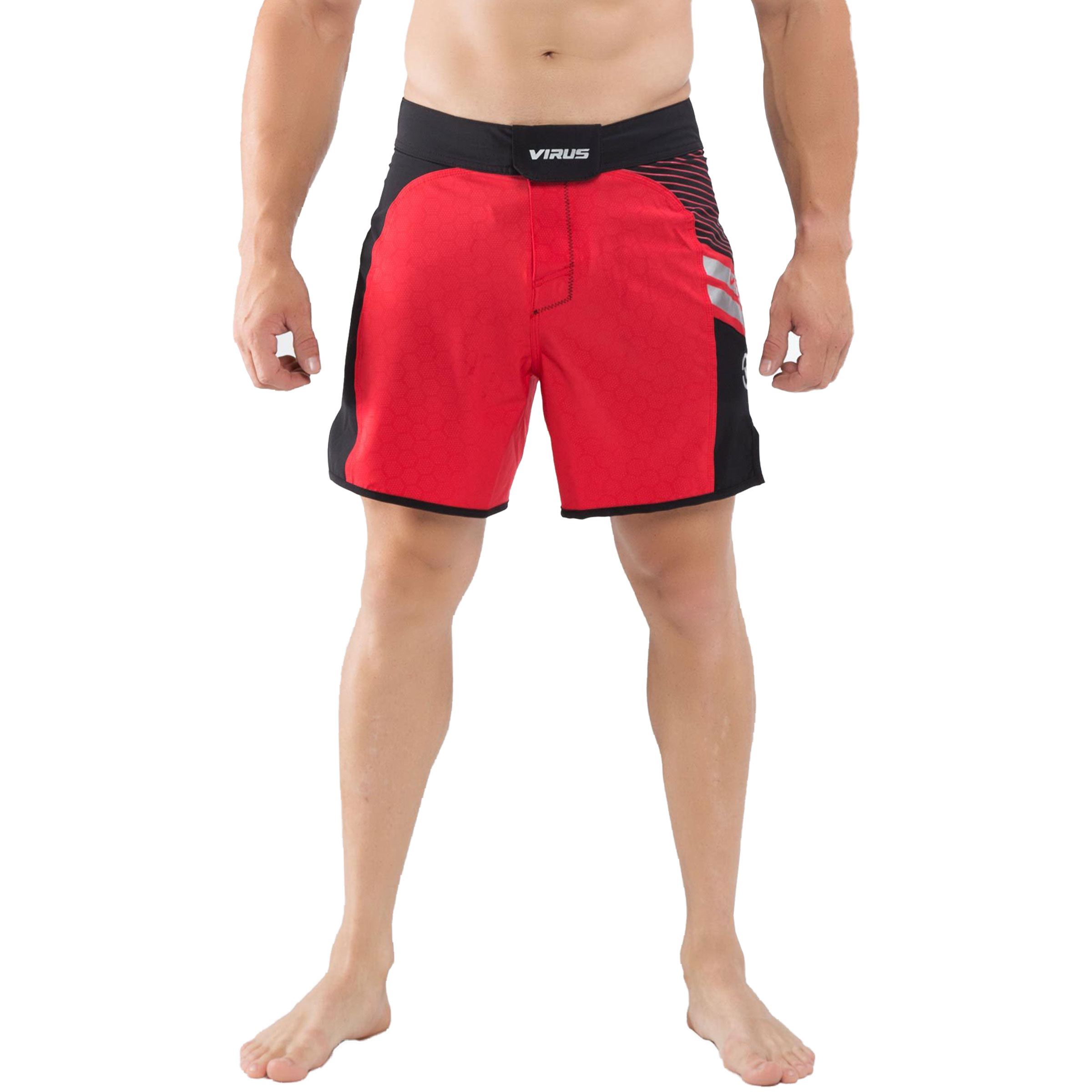 Virus Disaster Combat Shorts 2x-large Red/black | eBay
