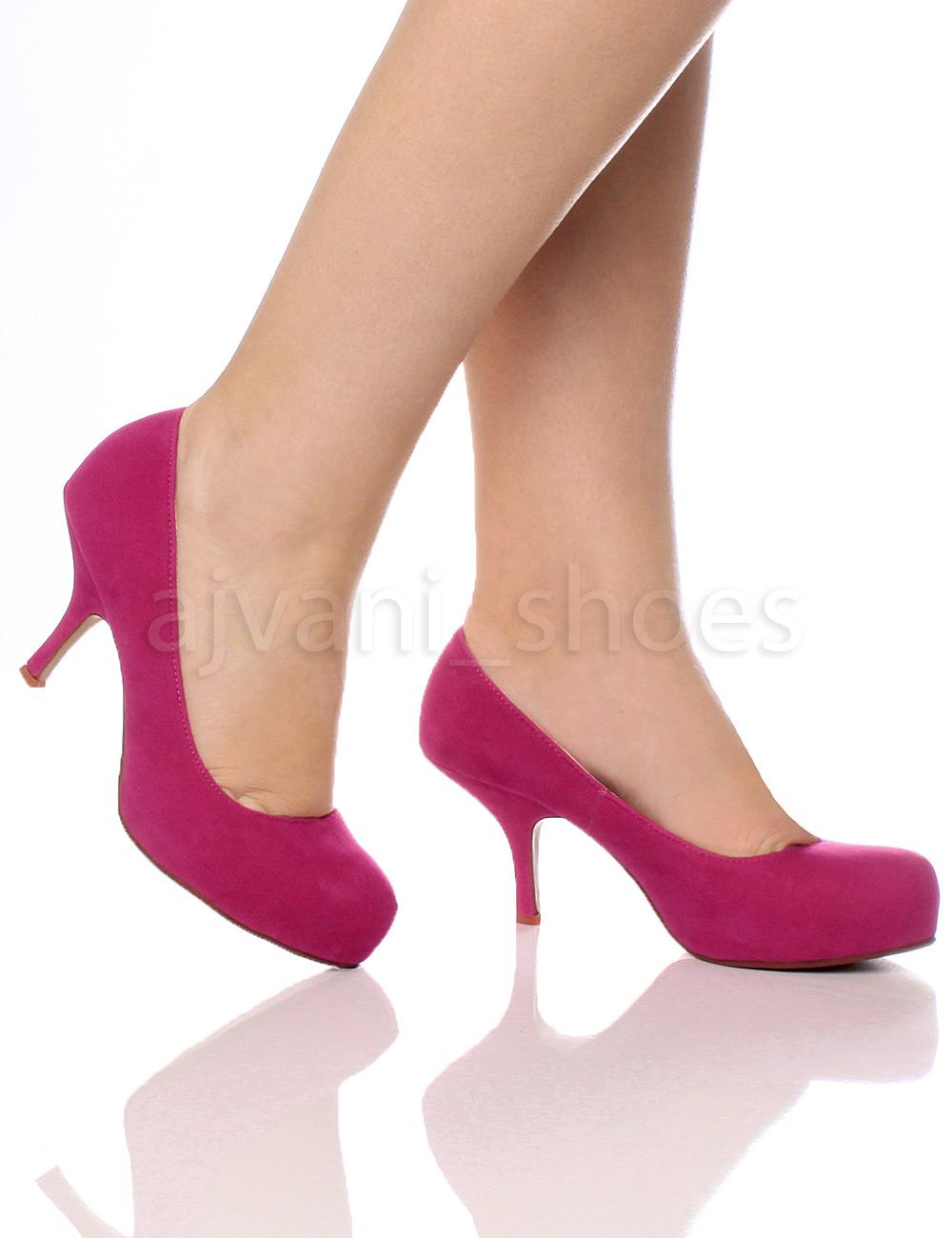 Tacón Plataforma Salón Mujer Zapatos Oculta Medio Ebay Bajo wg7PEAqEx